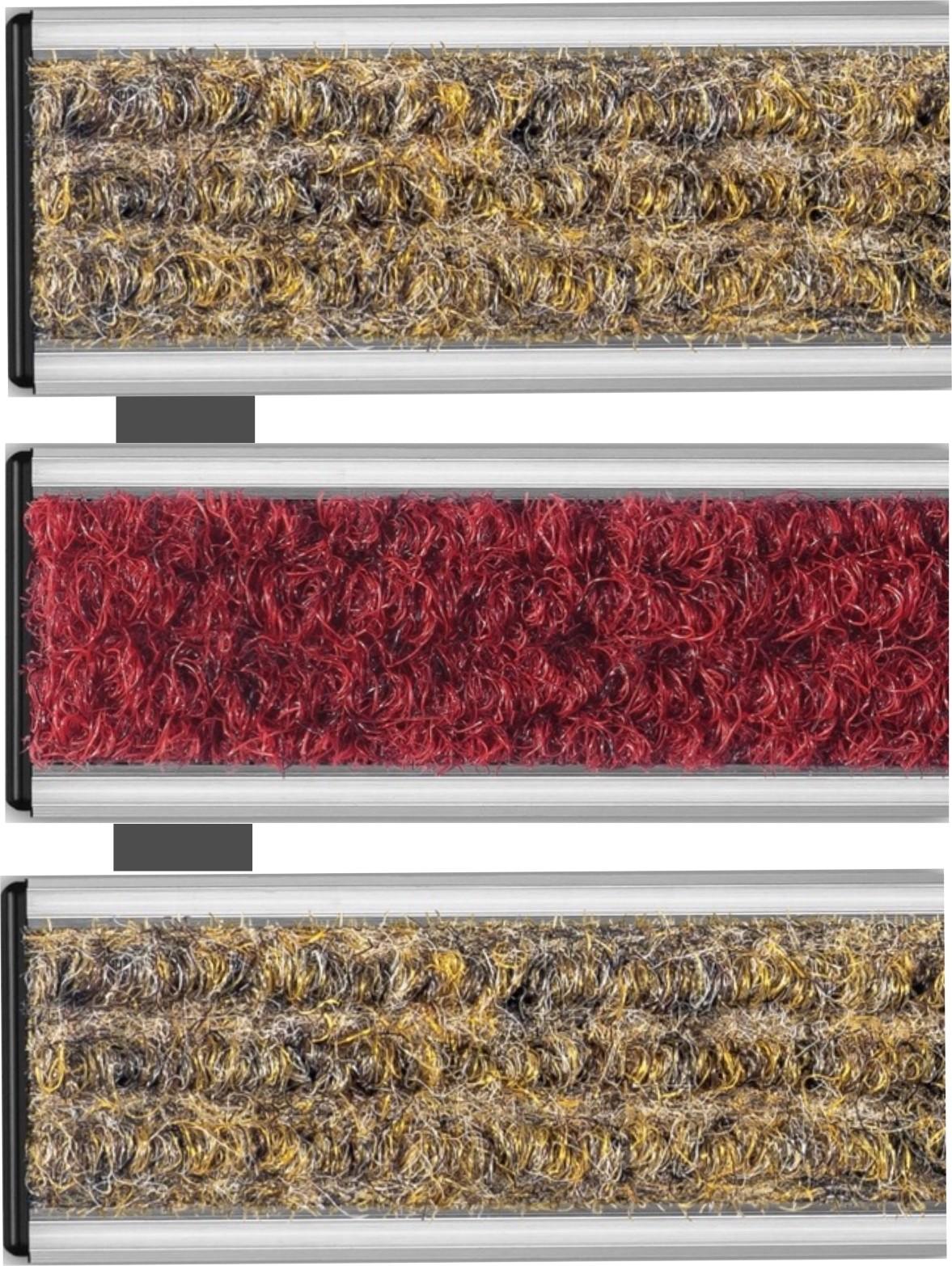 Wycieraczka systemowa tekstylna