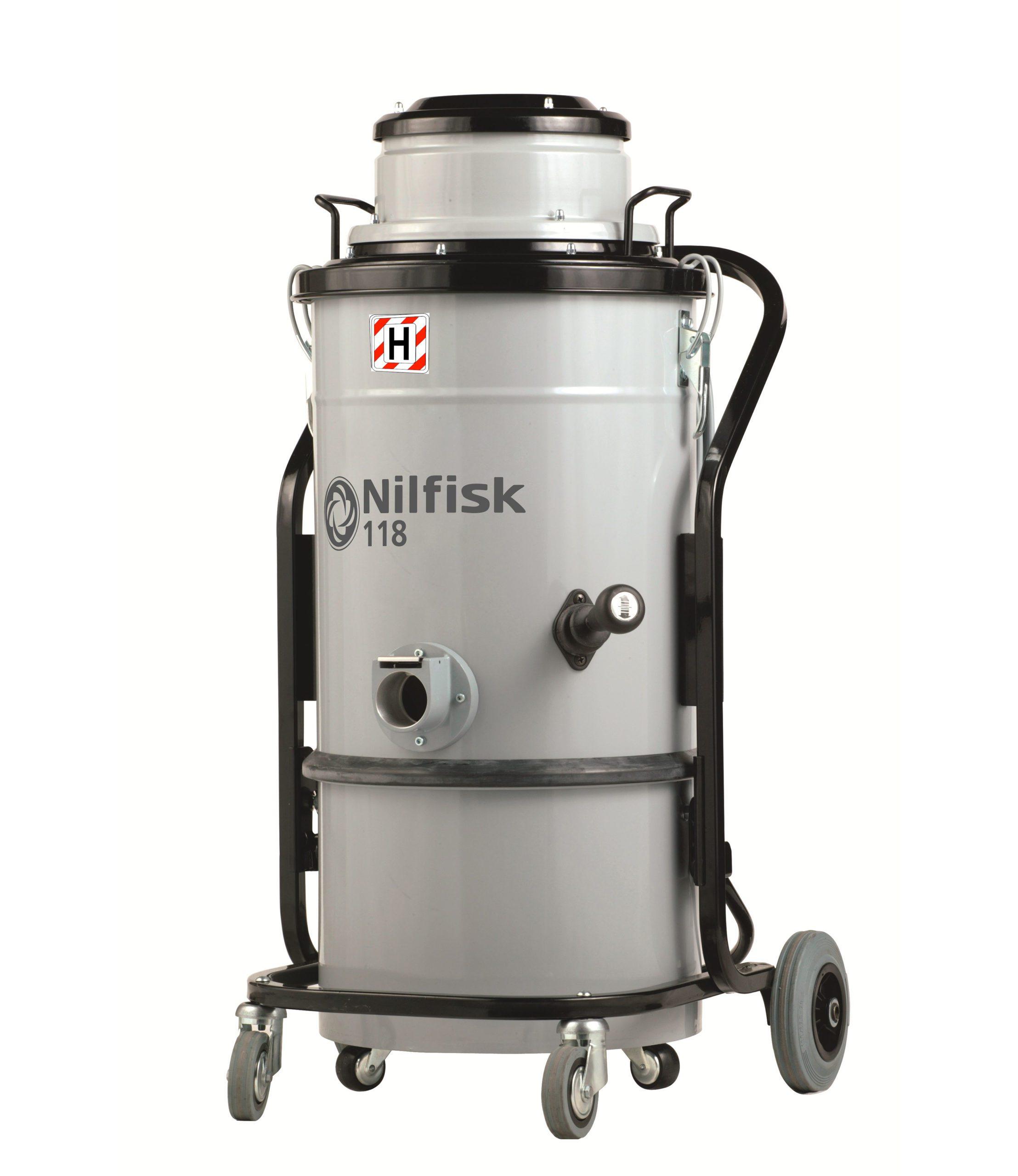 Odkurzacz przemysłowy klasy H_118 HC_Nilfisk