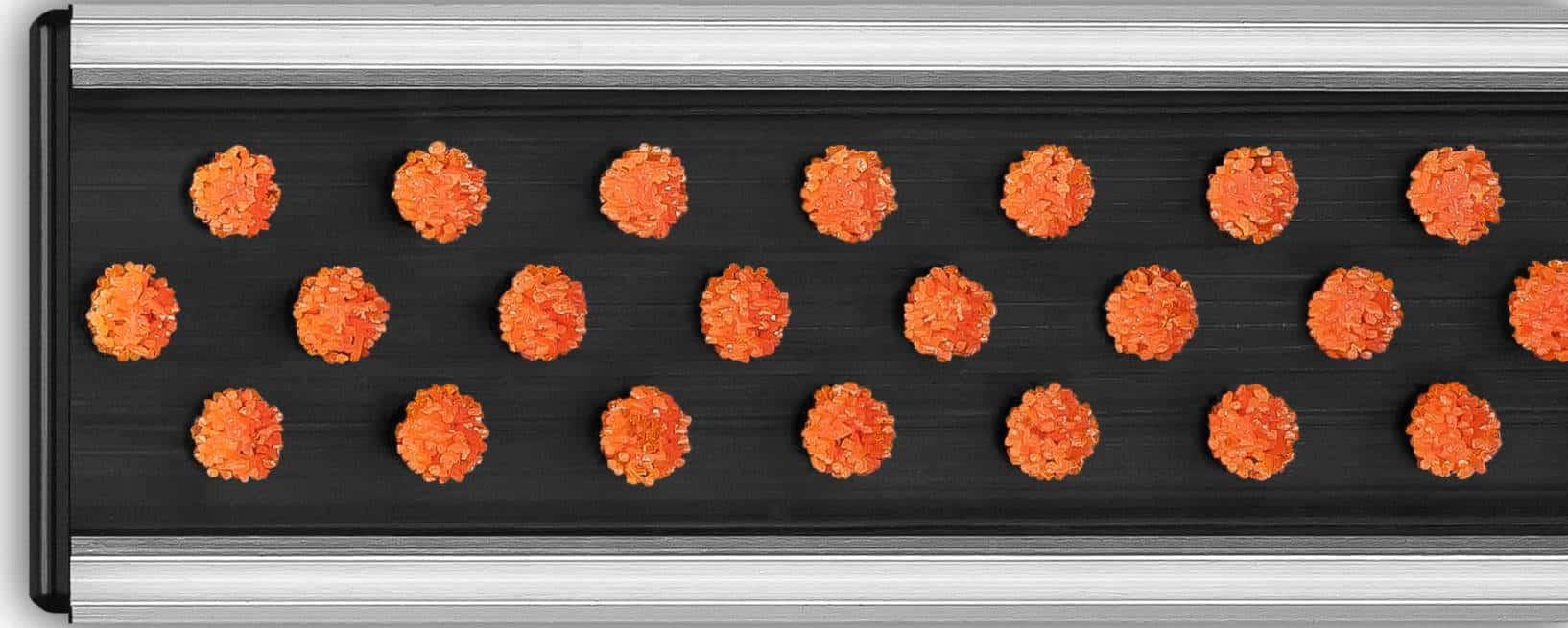 Wycieraczka aluminiowa-szczotkowa_pomarańczowa