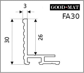 Rama do wycieraczki systemowej FA30