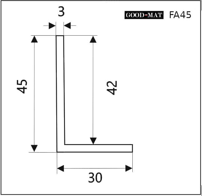 Rama do wycieraczki systemowej FA45