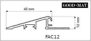 Profil najazdowy do wycieraczki systemowej FAC12