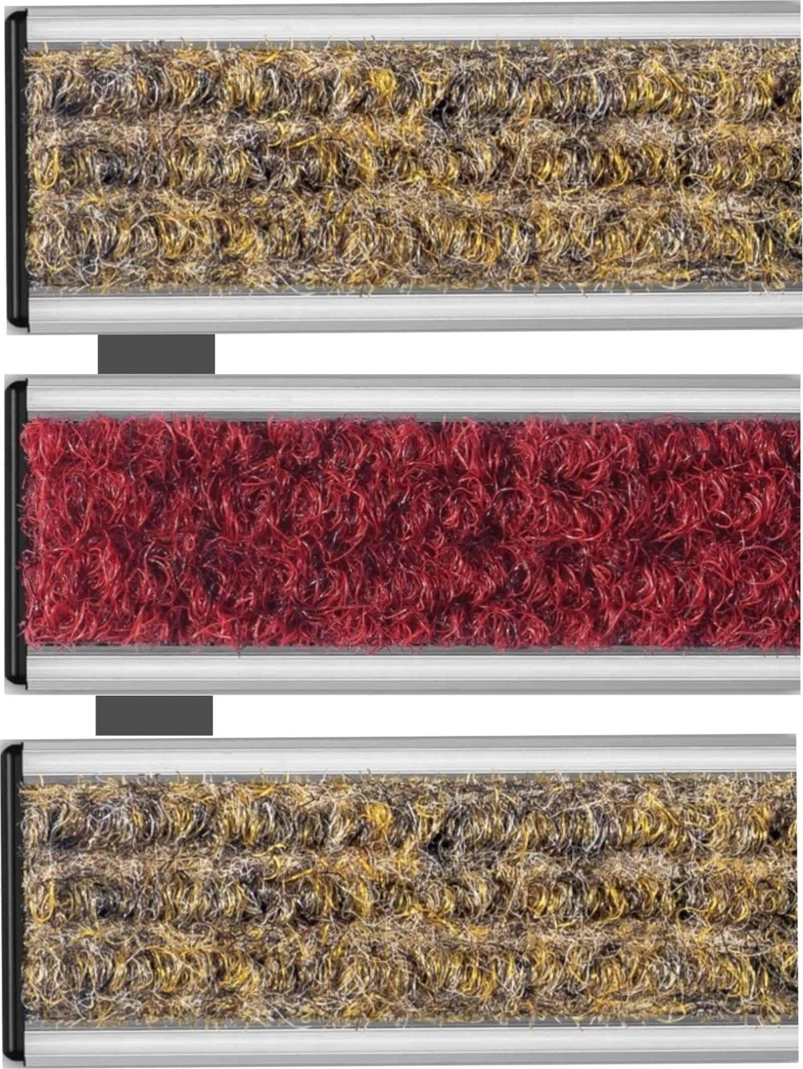 Wycieraczka systemowa wewnętrzna tekstylna